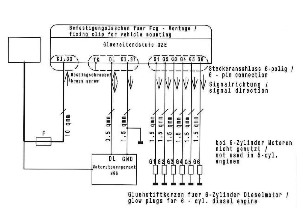 Schaltplan für Sprinter 212D Bj:1995 - Das Mercedes Sprinter, VW ...